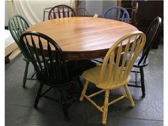 58 Inch Round Dining Table