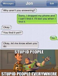 """I love Woody's face. He's just like """"I have officially lost all faith in humanity."""" XD"""