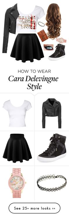 """""""Papertowns"""" by bronycutie2 on Polyvore Cute Edgy Outfits, Cute Summer Outfits, Cara Delevingne Style, Ideias Fashion, Future, Polyvore, How To Wear, Closet, Dresses"""