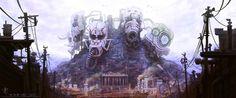 Metropolis by *iancjw on deviantART