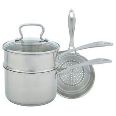 Range Kleen Mulit 4-piece Sauce Pan Set, Silver