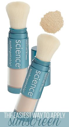 That time of year again! Protect your skin. Sun Protection the Easy Way with Colorescience Sunforgettable Mineral Sunscreen