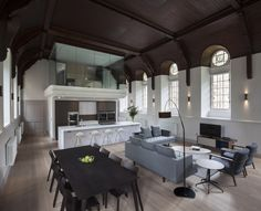 Incredible. Love the room above the kitchen!