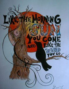 Grateful Dead Song Lyric Art Print by VisualMeditations on Etsy, $20.00