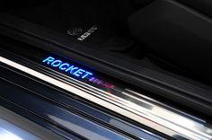 Illuminated entrance panel Rocket 800