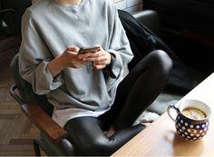 how to wear it: Lisette for Butterick B6295 faux leather leggings