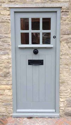 Cottage door on pinterest entry doors french blue and for Back door styles