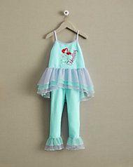 personalized Disney Princess Ariel pj's