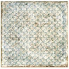 Ivy Hill Tile Angela Harris White+Light Green Decor 8 in. x 8 in. x Polished Ceramic Wall Tile pieces / sq. / - The Home Depot Mosaic Glass, Mosaic Tiles, Splashback Tiles, Backsplash Tile, Angela Harris, Buy Tile, Ceramic Subway Tile, Copper Material, Distressed Painting