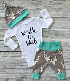 A personal favorite from my Etsy shop https://www.etsy.com/ca/listing/487810184/baby-boy-going-home-outfit-baby-girl