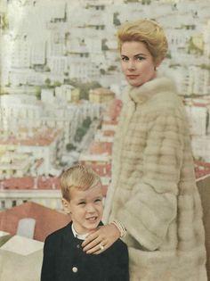 Princess Grace and  Prince Albert