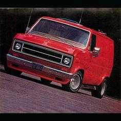 Custom 70's Ford Econoline Van