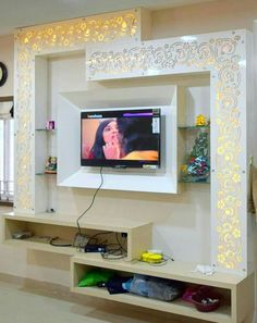 Easy And Cheap Tricks: False Ceiling Wedding Reception Ideas false ceiling details living rooms. Amazing and Unique Tricks Can Change Your Life: Wooden False Ceiling Interiors false ceiling hall spaces.False Ceiling With Wood Home. Tv Unit Design, Tv Wall Design, House Design, Window Design, Tv Wanddekor, Restaurant Design, Modern Restaurant, Modern Tv Wall Units, Living Room Tv Unit