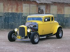 American Graffiti 1932 Ford Deuce Coupe. Freaking love this car