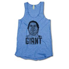 Andre Roussimoff Pro Wrestling Officially Licensed Womens Tank Top S-XL Andre the Giant Grill B