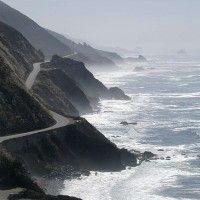 Big Sur cliffs to Monterey, CA. The most amazing road trip.