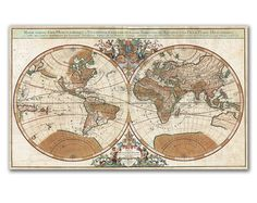 Hand painted old world map antique globe map matted 16x20 old hand painted old world map antique globe map matted 16x20 old world maps resurrected pinterest antiques hands and world gumiabroncs Image collections