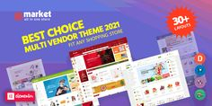 eMarket – Best Multi-Vendor MarketPlace Elementor WordPress Theme 2020 (30+ Homepages & 03+ Mobile Layouts Ready!) eMarket is the best multi vendor marketplace WordPress theme chosen as featured item by Envato Team. Also, as a Power Elite Author with over 11+ years of experience in Web Design, we develop this theme as a key item with beautiful, unique and professional design for all ecommerce website. #wpthemego #wordpresstheme #mobilelayout #multivendor #marketplace #woocommerce #ecommerce Christmas Shopping, All In One, Wordpress Theme, Ecommerce, Layouts, Web Design, Author, Key, Website