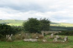 No spoilers, but stone circles might play a role in Stone-Cold Heart :) (http://jamigold.com/stone-cold-heart/)