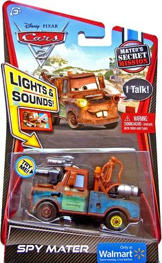 Disney cars 2 - lights and sounds - Spy Mater