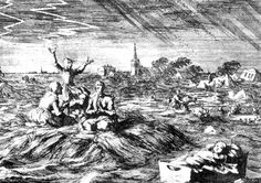 AD 1682 Global Cooling, North Sea, European Countries, European History, Continents, Denmark, Belgium, Netherlands, Holland