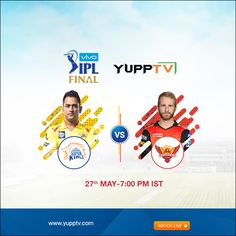 59 matches done. 10 venues as hosts. Thousands of miles covered. It has all come down to Match 60 of #VIVOIPL the two finalists #ChennaiSuperKings prepare to take on #SunRisersHyderabad .Will SRH break CSK jink in IPL 2018 final?  Watch #VIVOIPL2018 #CSKvsSRH #IPLFinal match today at 7 PM IST on YuppTV   Available in Europe, Australia ,Singapore, South East Asia,Central & South America, Malaysia Matches Today, Chennai Super Kings, May 7th, Southeast Asia, South America, Finals, Singapore, Two By Two, Europe