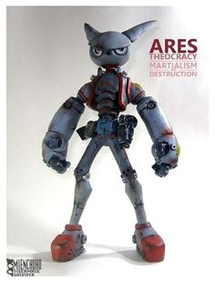 Ares Theocracy - Mienchuho Tigermask - by Gas Viper from Beijing China