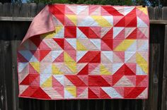 simple, fun baby quilt