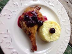 Loredana Sandu...retete pentru toate gusturile: Confit de canard cu sos de afine