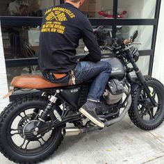 SERVICE TEE LONG SLEEVE – Jane Motorcycles