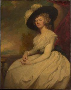 Mrs. Bryan Cooke (Frances Puleston, 1765–1818) Artist: George Romney (British, Beckside, Lancashire 1734–1802 Kendal, Cumbria) Date: ca. 1787–91 Medium: Oil on canvas Accession Number: 45.59.4 Metropolitan Museum of Art