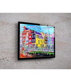 Print On Plexiglass Amsterdam PA.027 Amsterdam Souvenirs, Modern Art, Modern Design, Online Gallery, Design Art, Original Paintings, Display, Artist, Prints