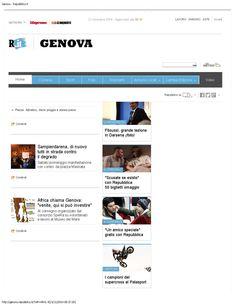 Repubblica.it 20 novembre - home page