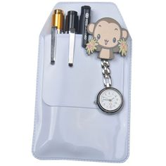 1pcs Practical Pen Inserted Leak-proof Pvc Material Hospital Supplies Doctors Nurses Dedicated Pen Bag Card Id Holder Luggage & Bags