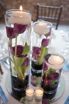 62 Super Ideas For Wedding Table Centerpieces Simple Floating Candles Diy Wedding, Wedding Reception, Wedding Flowers, Dream Wedding, Wedding Ideas, Trendy Wedding, Gold Wedding, Table Wedding, Elegant Wedding