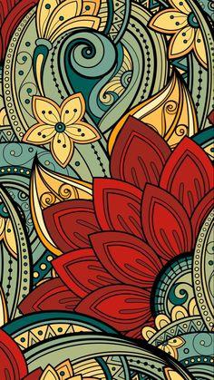 Wallpaper celular whatsapp mandalas flores 64 New ideas Uhd Wallpaper, Cool Wallpaper, Pattern Wallpaper, Wallpaper Backgrounds, Beautiful Wallpaper, Iphone Wallpaper Mandala, Wallpaper Doodle, Cellphone Wallpaper, Phone Backgrounds