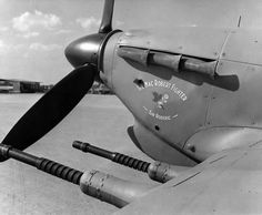 "Hurricane with 20mm guns, ""Sir Roderic"" – presentation Hurricane No 94 Squadron RAF."