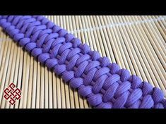 How to Make the Wave Paracord Bracelet Tutorial - YouTube