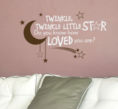 Adorable quote for a nursery or kids room