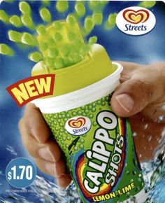 Give us back our Calippo Shots!