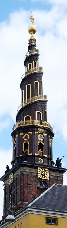 Iglesia de Nuestro Salvador. Isla de Amager, Copenhague, Dinamarca.