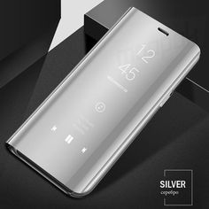 Clear Mirror Smart Phone Case For Samsung Galaxy Flip Stand Cover For Samsung Plus Note 8 Case 1 Flip Phone Case, Flip Phones, Iphone 6, Iphone Cases, Samsung Cases, Phone Accesories, Samsung Galaxy S4, Galaxy Note, Protective Cases
