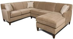 Collegedale 3pc Sectional Sofa by England