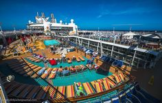 """Allure of the Seas"": the World's Largest Cruise Ship, http://itcolossal.com/allure-of-the-seas/"