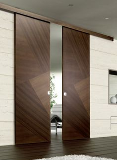 Bedroom or bathroom doors