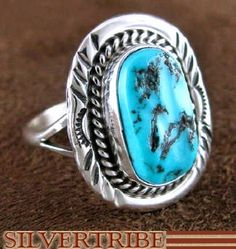 Sleeping Beauty Turquoise Ring