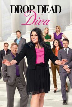 Brooke elliott drop dead diva famous bbw curvy and - Drop dead diva watch series ...