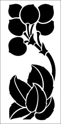 Motif No 39 stencil from The Stencil Library ARTS AND CRAFTS range. Buy stencils online. Stencil code DE147.
