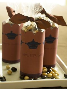 Sweet Sendoff... Providing a take-home treat for guests is a thoughtful touch.