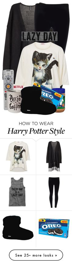 """""""My Lazy Day"""" by espritducoeur on Polyvore featuring H&M, Audiovox, Vivienne Westwood, Polar Feet, LazyDay and fashionset"""